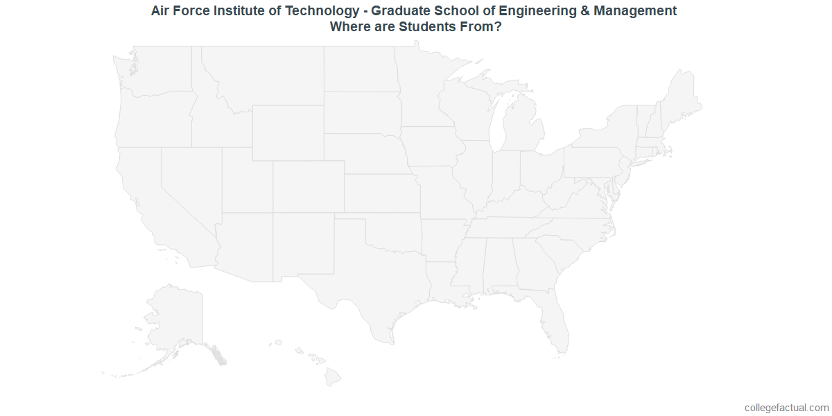 Undergraduate Geographic Diversity at Air Force Institute of Technology - Graduate School of Engineering & Management