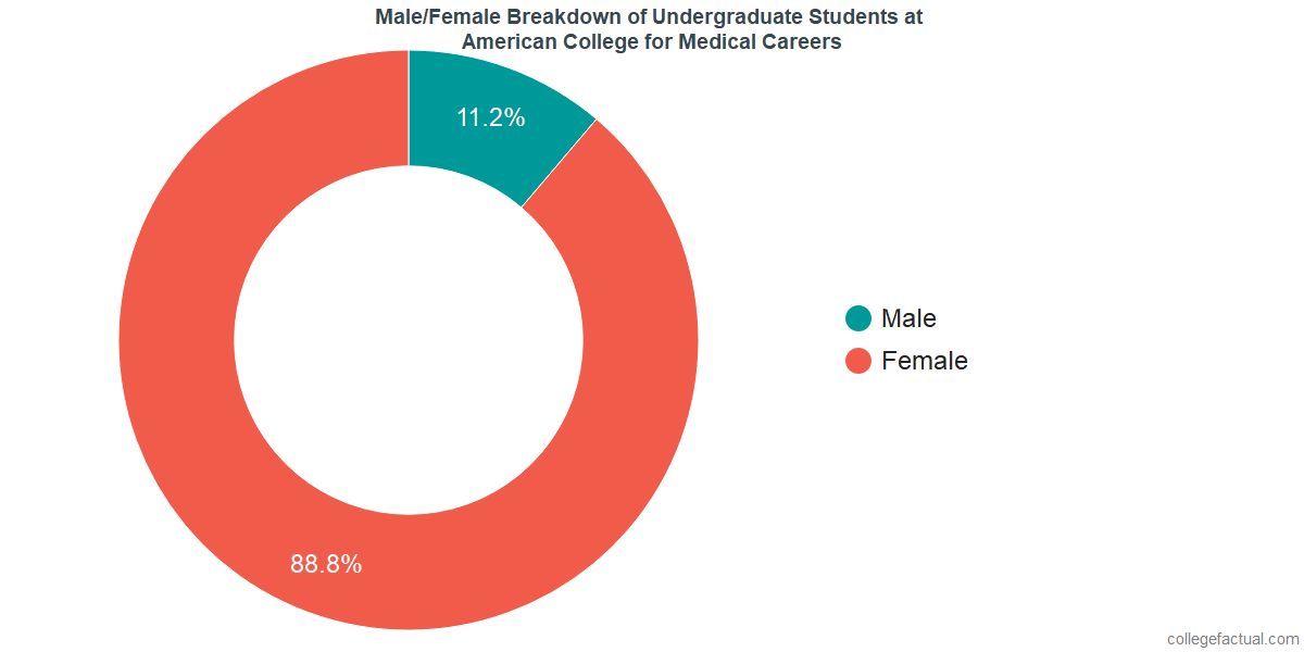 Undergraduate Gender Diversity at American College for Medical Careers