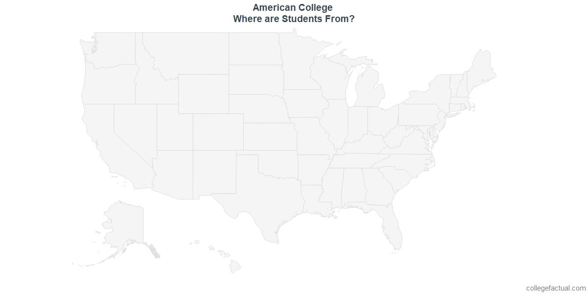 Undergraduate Geographic Diversity at American College