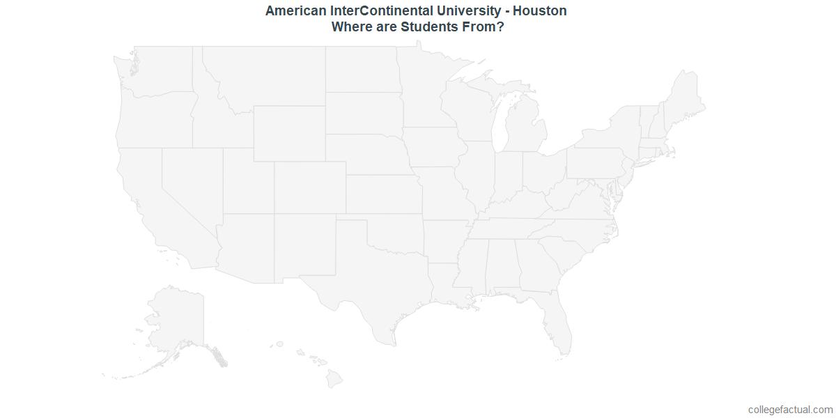 Undergraduate Geographic Diversity at American InterContinental University - Houston