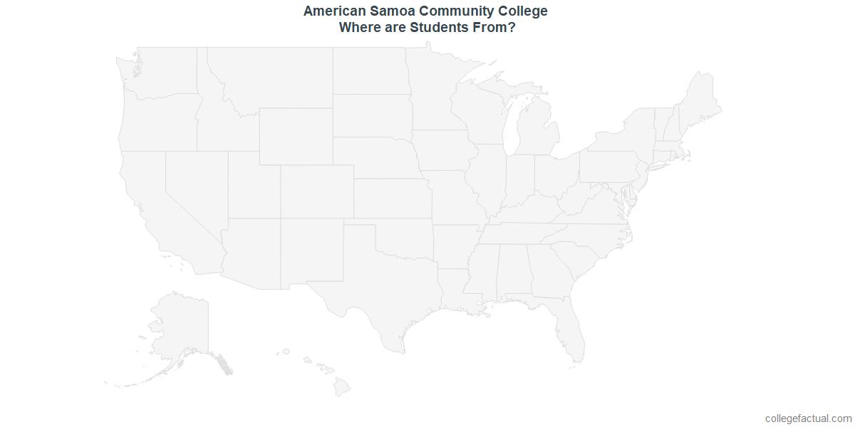 Undergraduate Geographic Diversity at American Samoa Community College