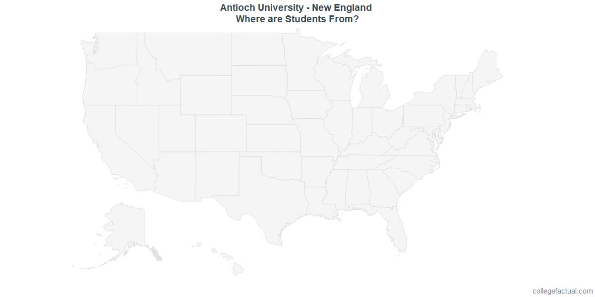 Undergraduate Geographic Diversity at Antioch University - New England