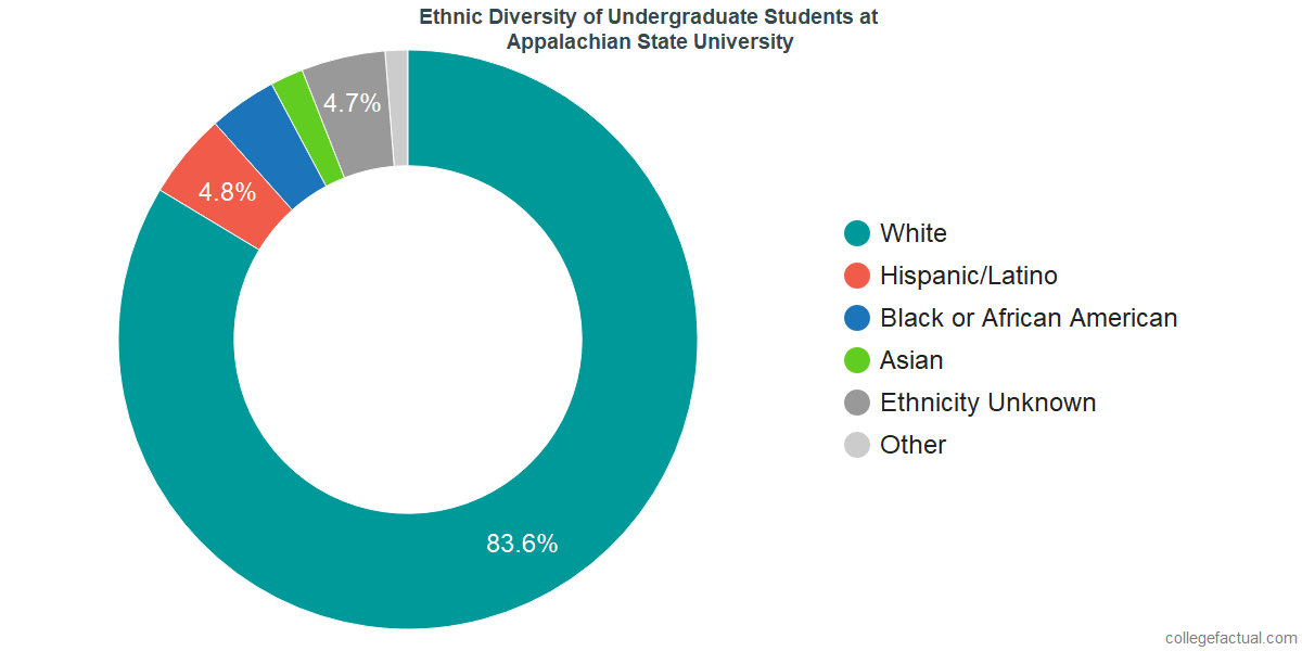 Ethnic Diversity of Undergraduates at Appalachian State University