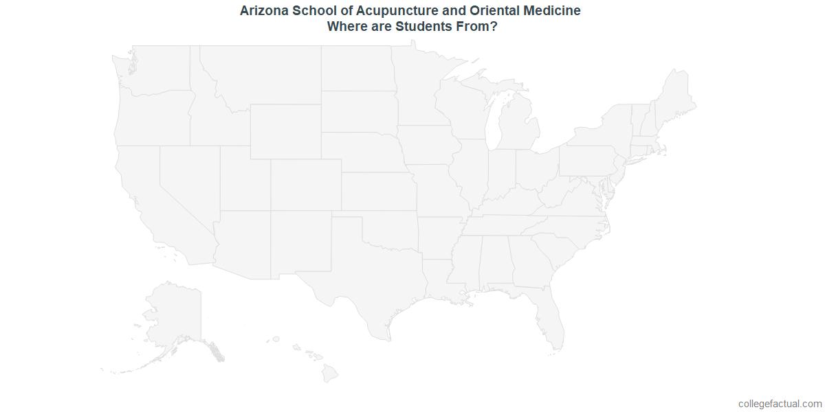Undergraduate Geographic Diversity at Arizona School of Acupuncture and Oriental Medicine