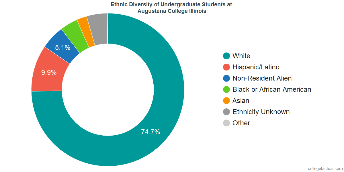 Ethnic Diversity of Undergraduates at Augustana College Illinois