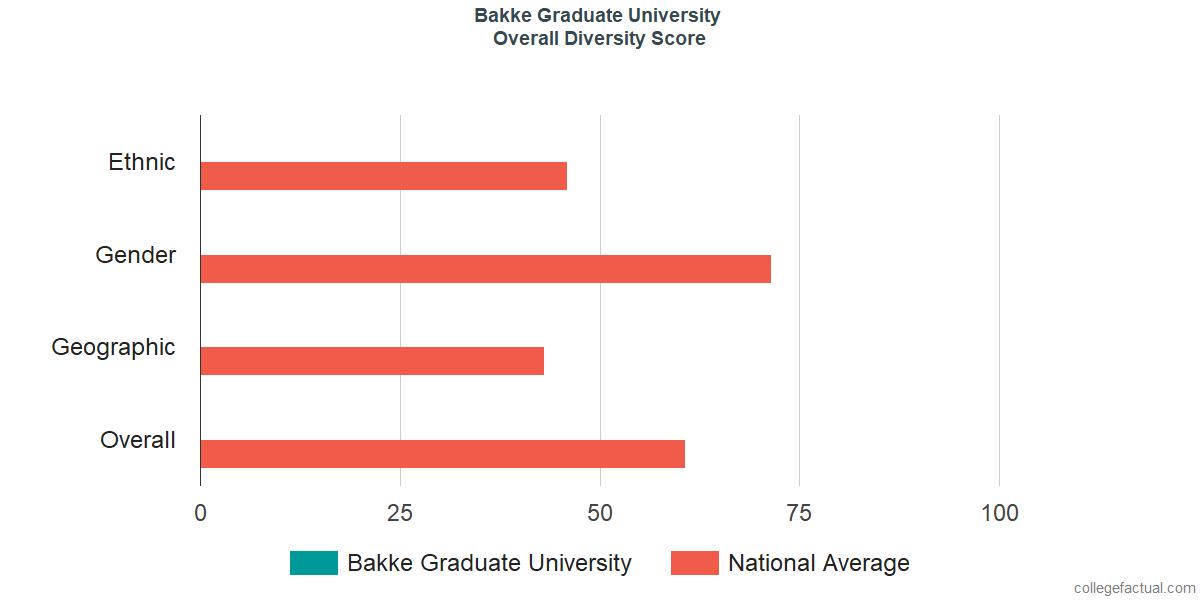 Overall Diversity at Bakke Graduate University
