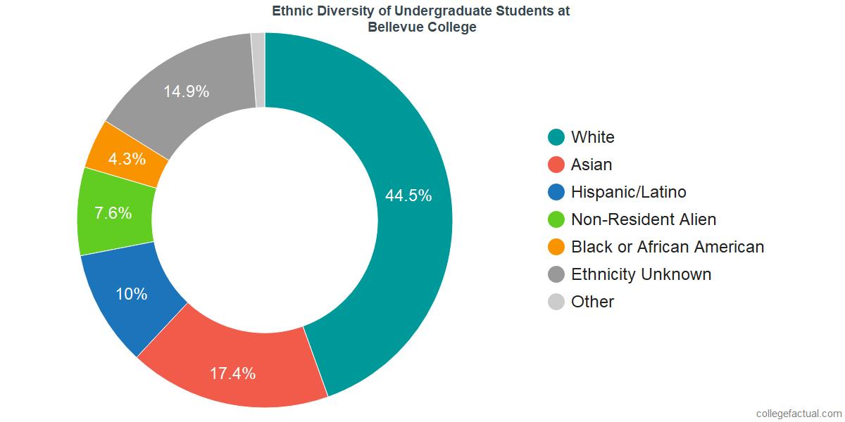 Ethnic Diversity of Undergraduates at Bellevue College