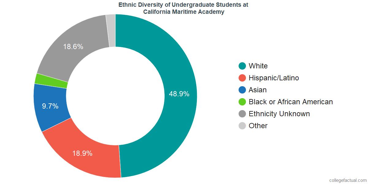 Ethnic Diversity of Undergraduates at California State University Maritime Academy