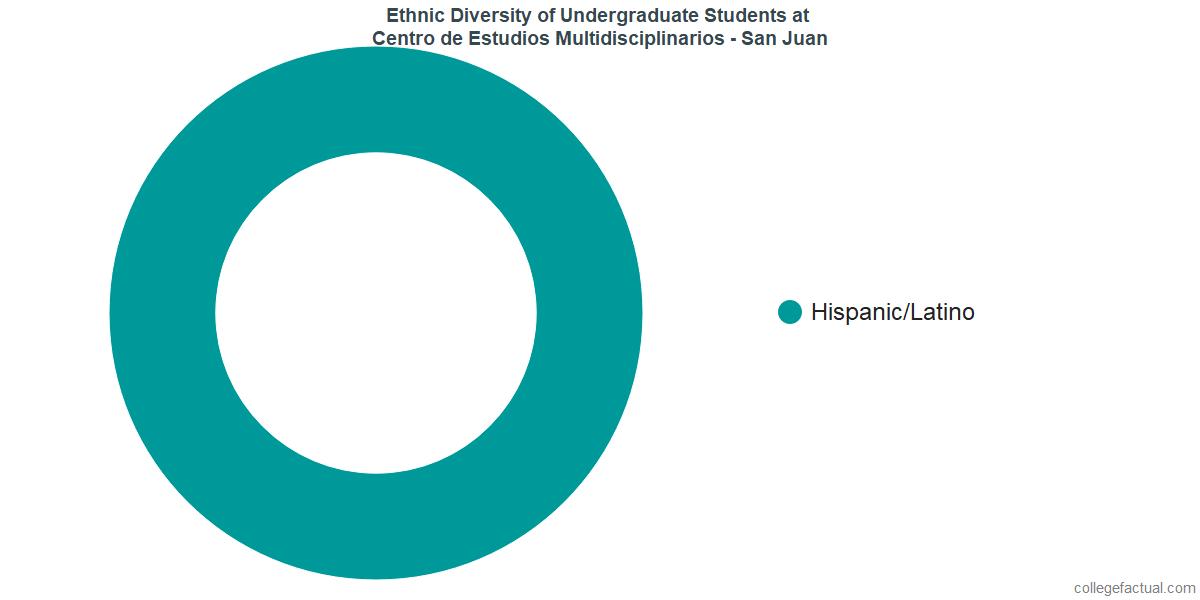 Ethnic Diversity of Undergraduates at CEM College - San Juan