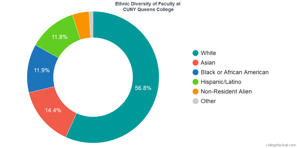 Take A Deeper Look At Ethnic Diversity At CUNY Queens College