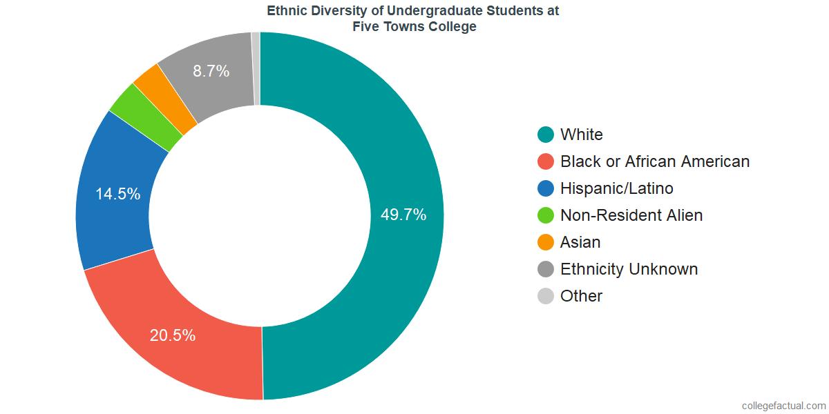 Ethnic Diversity of Undergraduates at Five Towns College