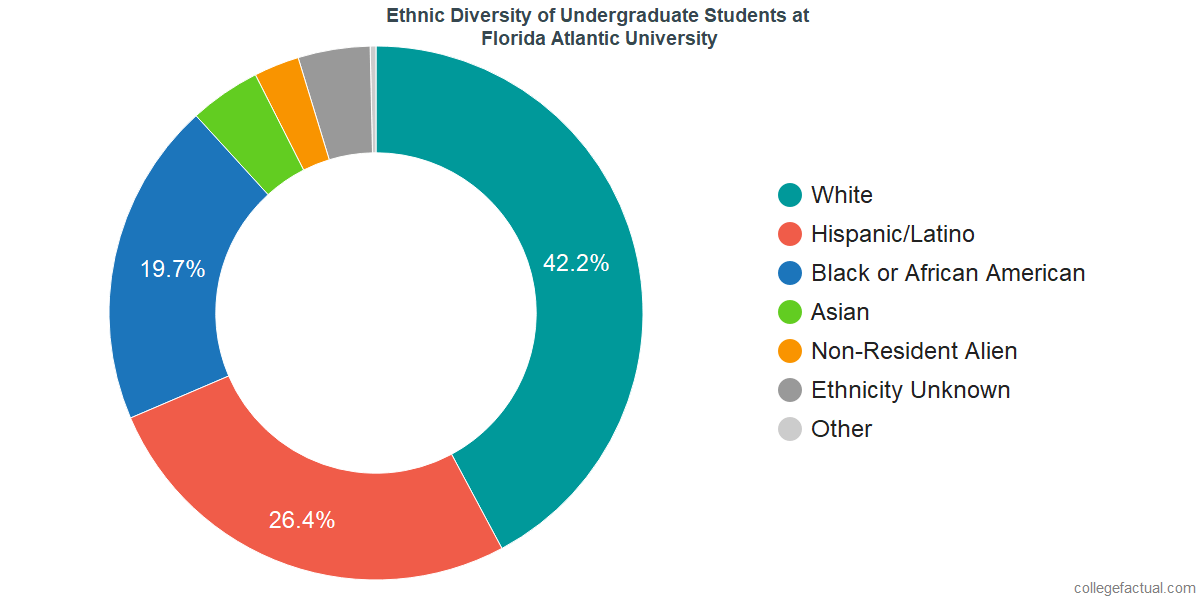 Ethnic Diversity of Undergraduates at Florida Atlantic University