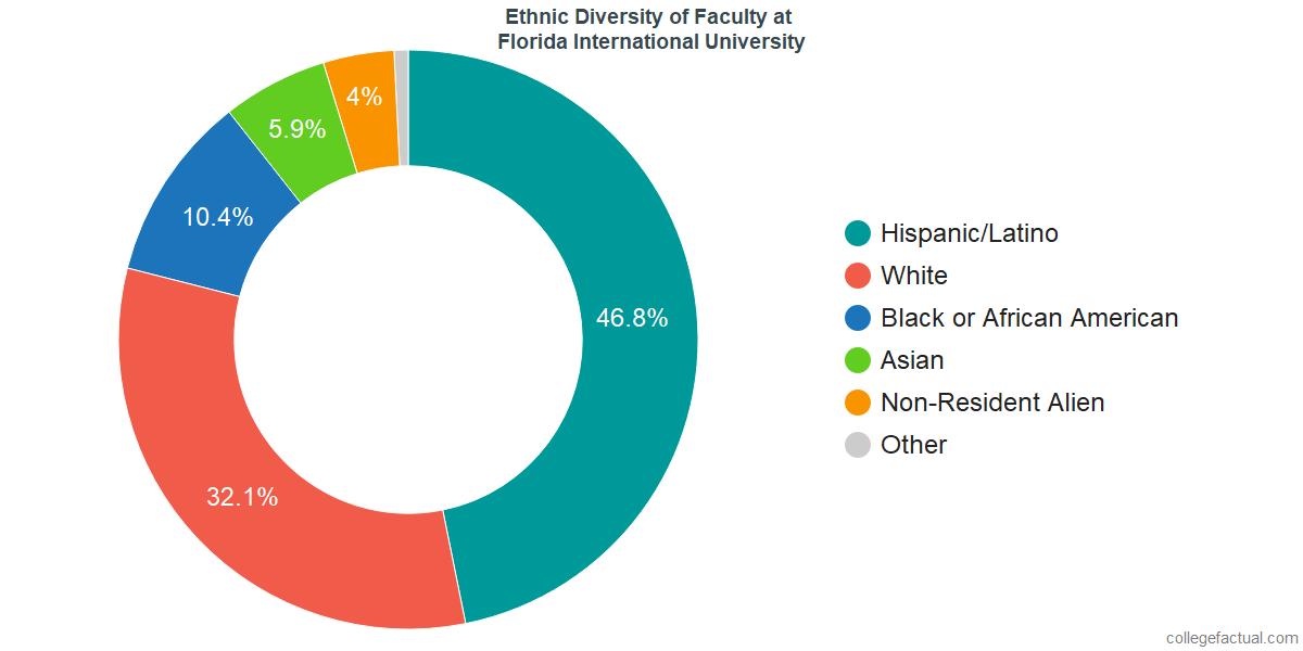 Ethnic Diversity of Faculty at Florida International University