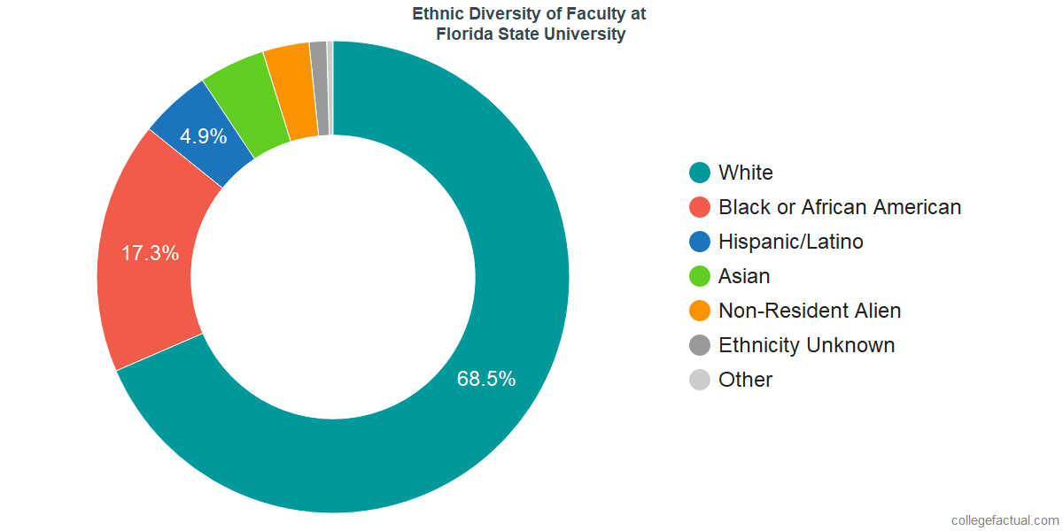 Florida State University Diversity: Racial Demographics