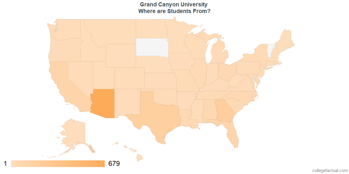 Grand Canyon University Diversity Racial Demographics