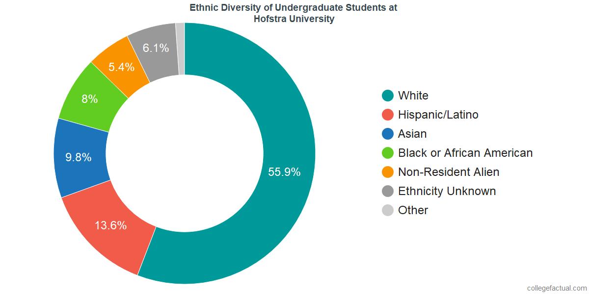 Hofstra University Diversity: Racial Demographics & Other Stats