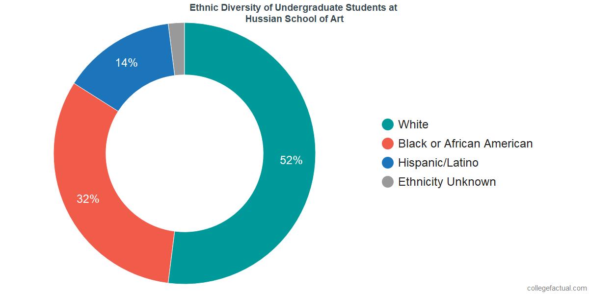 Ethnic Diversity of Undergraduates at Hussian College
