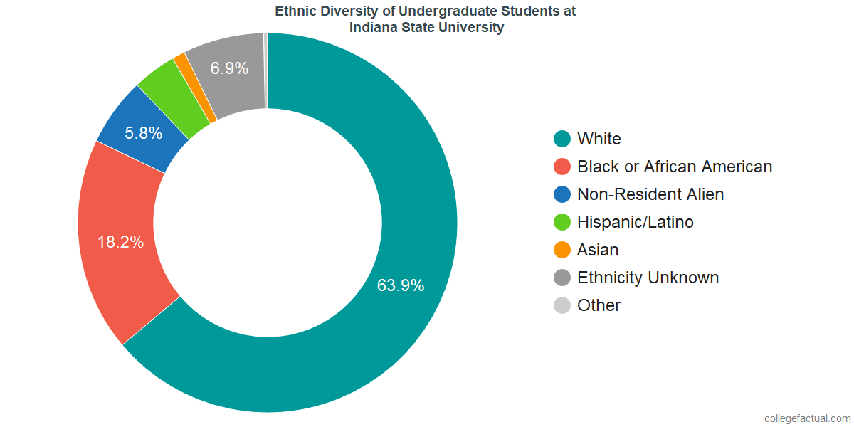 Ethnic Diversity of Undergraduates at Indiana State University