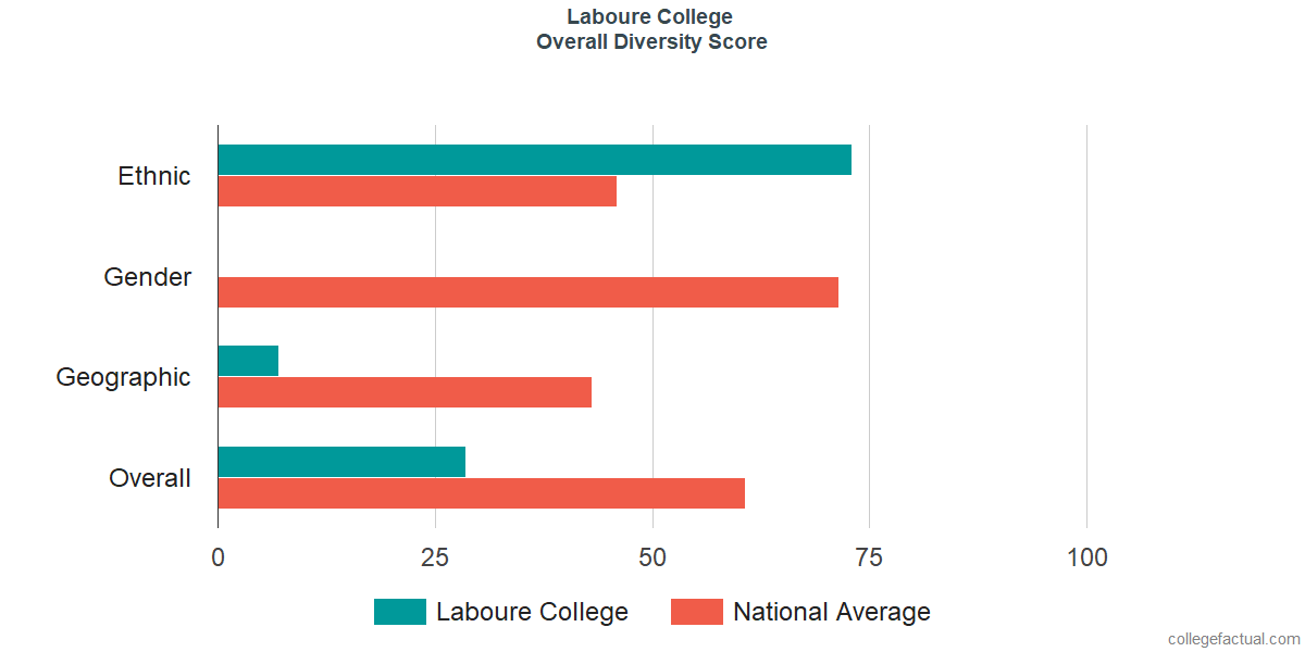 Overall Diversity at Laboure College