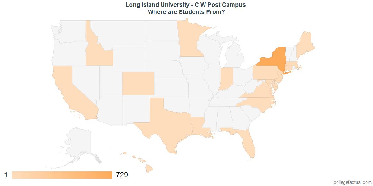 LIU Post Diversity: Racial Demographics & Other Stats
