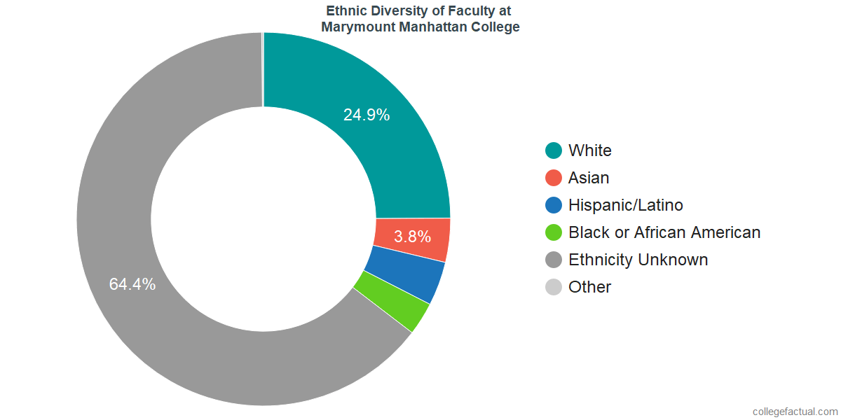 Marymount Manhattan College Diversity Racial Demographics Other Stats
