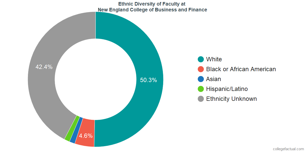 Ethnic Diversity of Faculty at New England College of Business and Finance