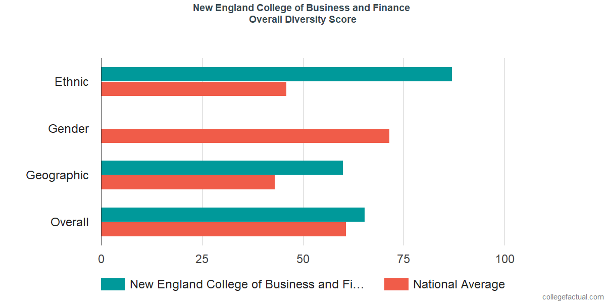 Overall Diversity at New England College of Business and Finance