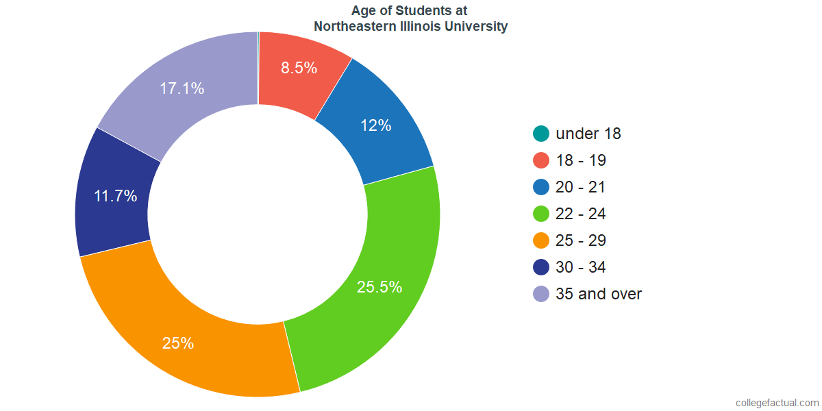 Age of Undergraduates at Northeastern Illinois University