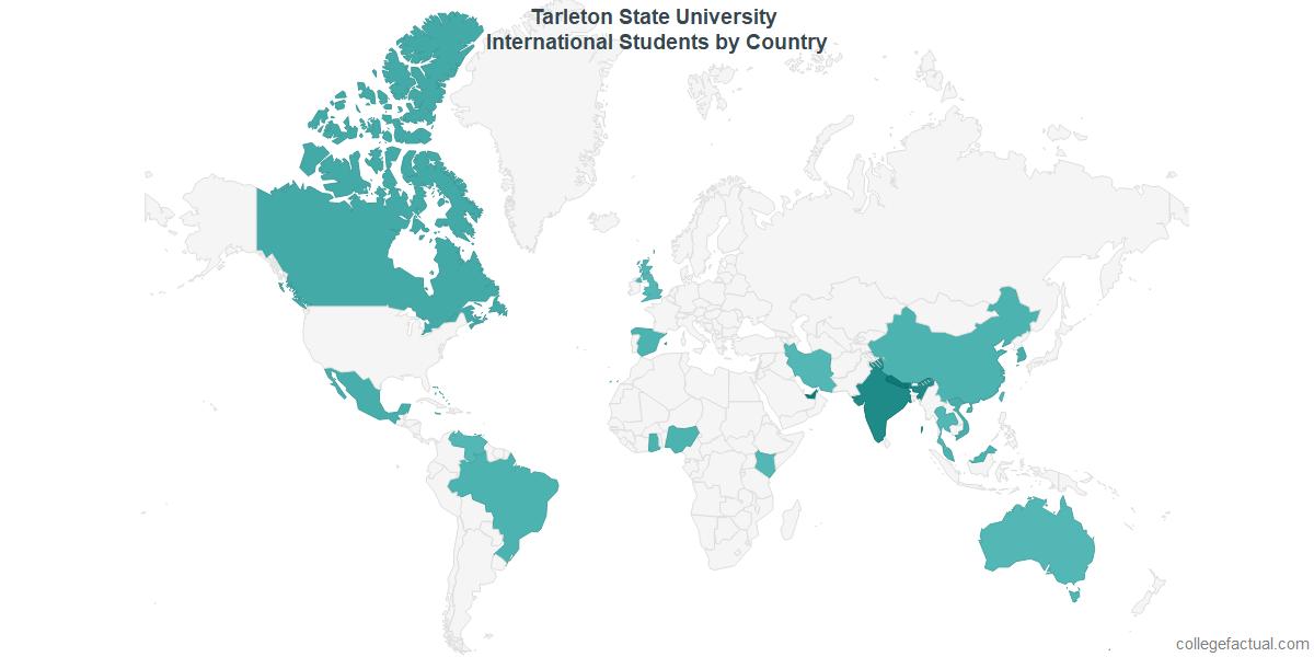 Tarleton State Campus Map.Tarleton State University International Students Information On