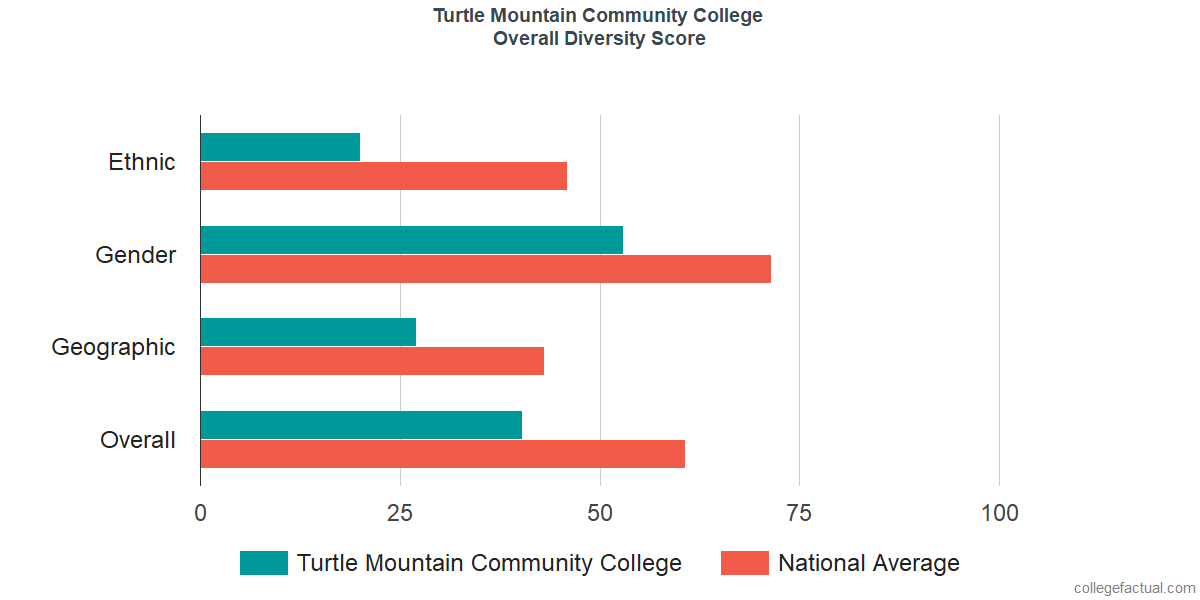 Overall Diversity at Turtle Mountain Community College