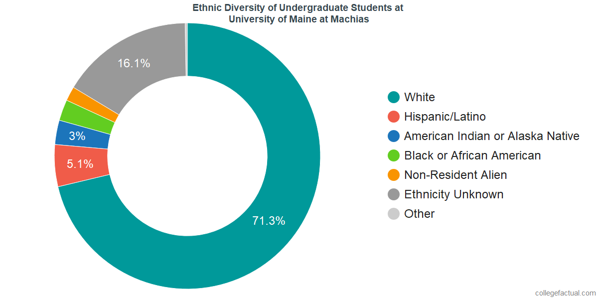 University Of Maine At Machias >> University Of Maine At Machias Diversity Racial